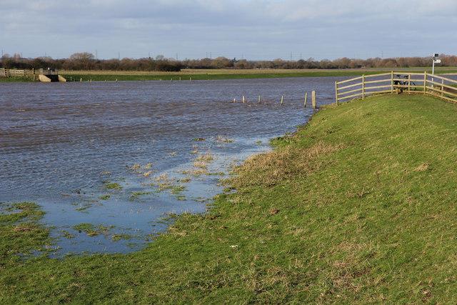 River Trent in spate