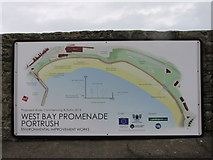 C8540 : Information sign Portrush Harbour by Willie Duffin