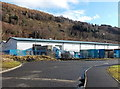 ST0598 : Maersk artic in Cwm Cynon Business Park, Penrhiwceiber by Jaggery