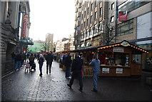 SJ8398 : Christmas Market, St Ann's Square by N Chadwick