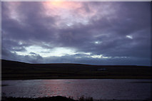 HP6312 : Something other than grey in the sky: Haroldswick by Mike Pennington