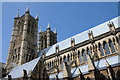 SK9771 : West towers, Lincoln Cathedral by Philip Halling