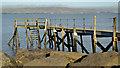 J3979 : Yacht club jetty, Holywood - February 2014 by Albert Bridge