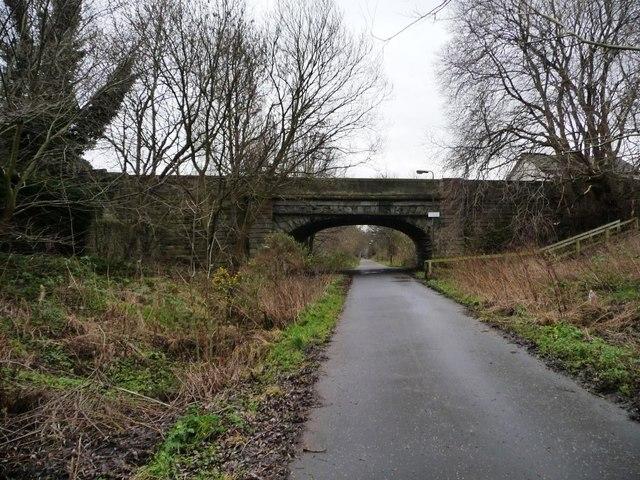 Warriston Gardens bridge, Goldenacre Path by Christine Johnstone