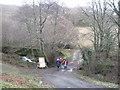 SH5828 : The lane to Bryn-y-Moel by David Medcalf