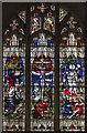 TQ6652 : East Window, St Michael's church, East Peckham by Julian P Guffogg