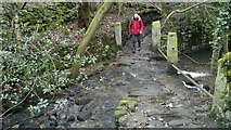 SK3463 : Ford across Marsh Brook on path from Ashover by Chris Morgan