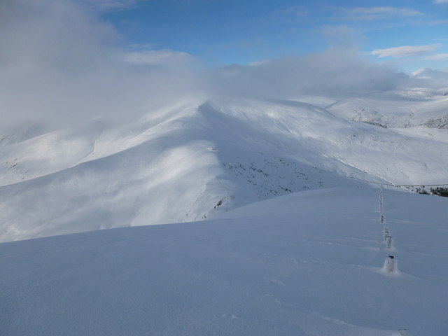 South east ridge of Meall a' Choire Bhuidhe