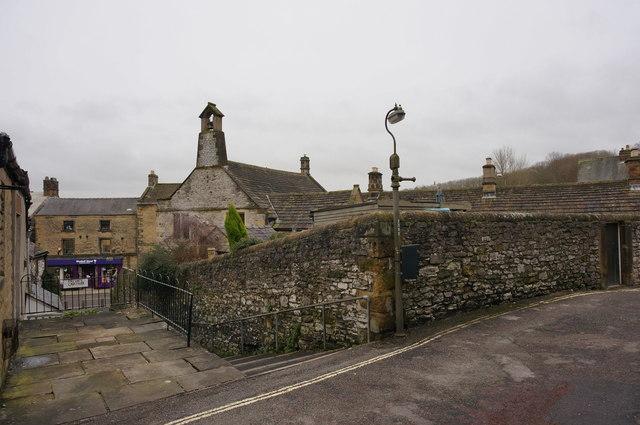 Wall, Church Alley, Little Hill, Bakewell