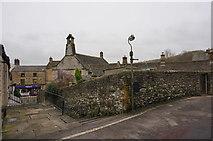 SK2168 : Wall, Church Alley, Little Hill, Bakewell by Peter Barr
