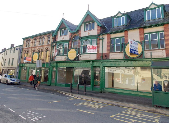 Former department store in Abergavenny