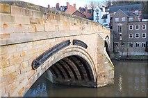 NZ2742 : Framwelgate Bridge, Durham by Jim Barton