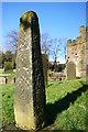 SK2168 : Anglian Cross Shaft, Bakewell Church by Peter Barr