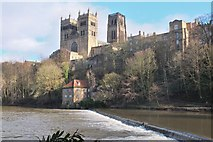 NZ2742 : Durham Cathedral from the weir by Jim Barton
