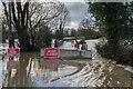 TQ2348 : Flooding at Flanchford Bridge by Ian Capper