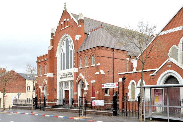 donegall road methodist church  belfast  u00a9 albert bridge cc