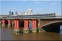 TQ3180 : Blackfriars Bridge by Wayland Smith