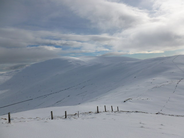 Meall Uaine ('rounded green hill')