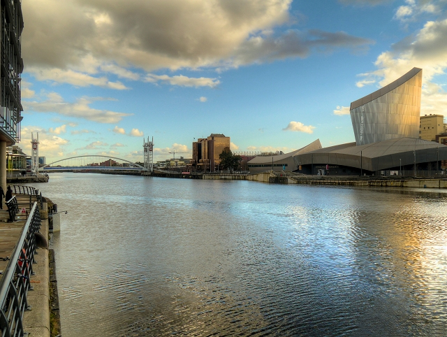 Manchester Ship Canal at Salford Quays