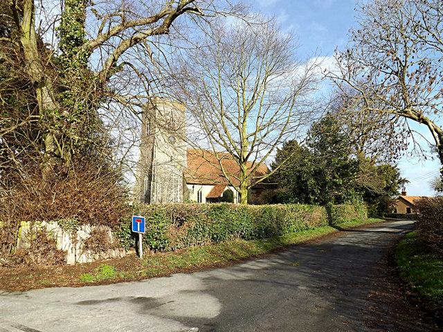 Church Lane & St.John's Church