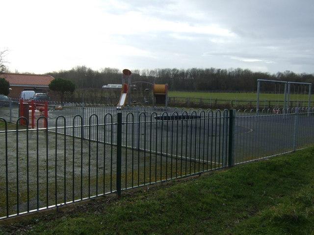 Children's playground, Dunsdale