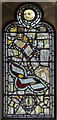 TF8044 : Stained glass window, St Mary's church, Burnham Deepdale by J.Hannan-Briggs
