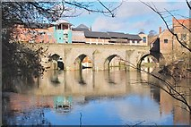 NZ2742 : Elvet Bridge, Durham by Jim Barton