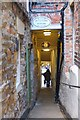 NZ2742 : Alleyway off Saddler Street, Durham by Jim Barton