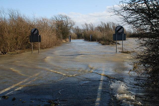 Welney Wash in Flood