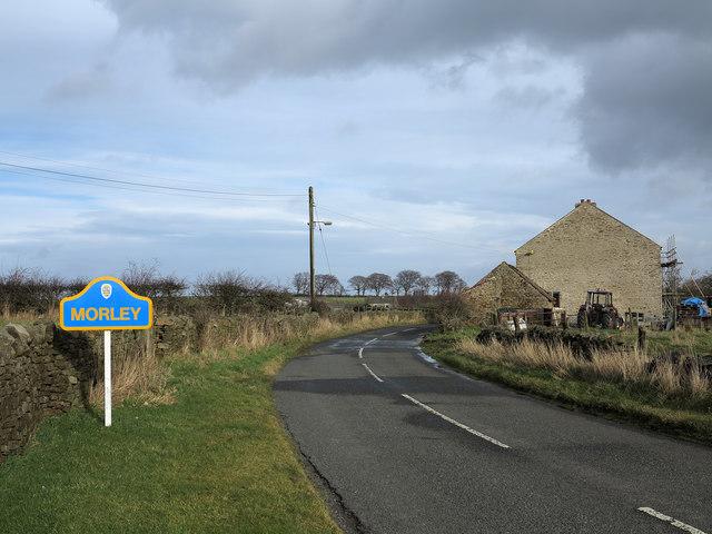 Minor road at Morley