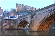 NZ2742 : Framwelgate Bridge and Durham Castle by Jim Barton