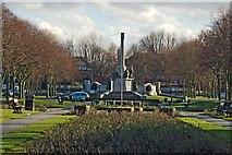 SJ3384 : Gardens, Port Sunlight by Paul Harrop