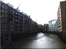 TQ3379 : St. Saviour's Dock, Bermondsey by Chris Whippet