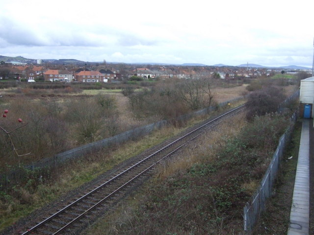 Railway heading south