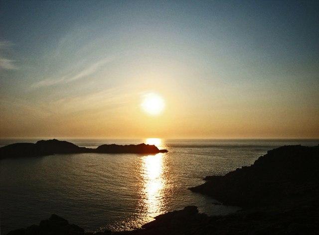 Sunset over Shipman Head
