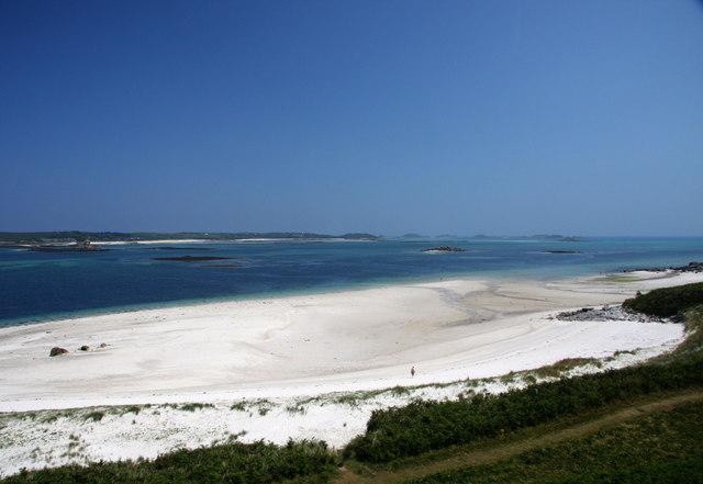 Beach on Tresco