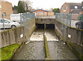 SK5439 : River Leen at Derby Road by Alan Murray-Rust