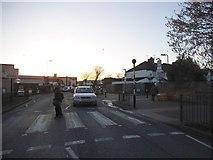 TQ1883 : Zebra crossing on Mount Pleasant, Alperton by David Howard