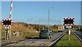 J2184 : Kilmakee level crossing, Templepatrick - February 2014 (1) by Albert Bridge