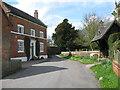 SK1727 : Church Lane, Hanbury 4-Staffs by Martin Richard Phelan