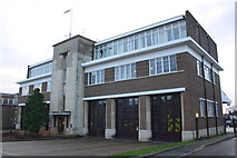 TQ1785 : Wembley Fire Station by Roger Templeman