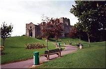 SS6188 : Castell Ystumllwynarth / Oystermouth Castle by Alan Richards