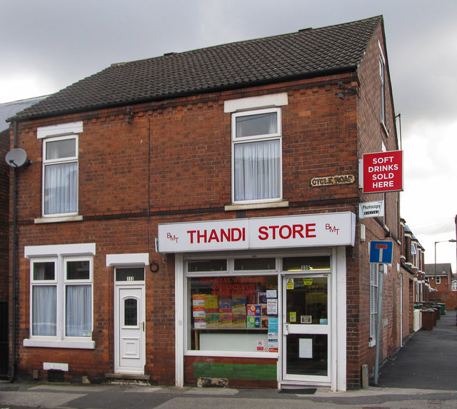 Corner shop, Cycle Street, Lenton