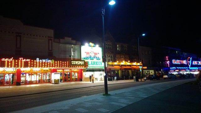Marine Avenue at Southend-on-Sea