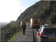 NT2772 : Incident above Samson's Ribs by M J Richardson
