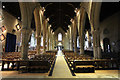 SK9136 : St.Wulfrum's nave by Richard Croft