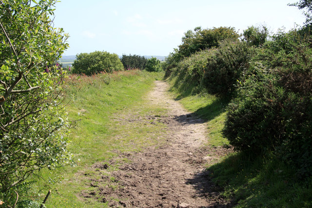 Bridleway on Carn Marth
