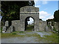 N4728 : Gates of Old Killaderry Cemetery Daingean Co. Offaly by Kenneth Gallery Smyth