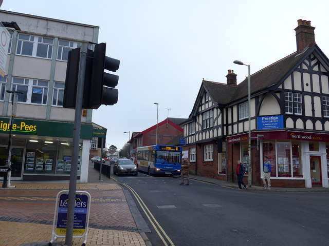 Junction of Winchester and New Streets