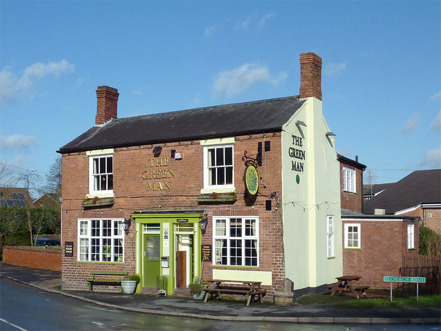 The Green Man in Swindon, Staffordshire